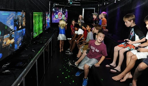 video game bus in maryland next level gaming game truck rental