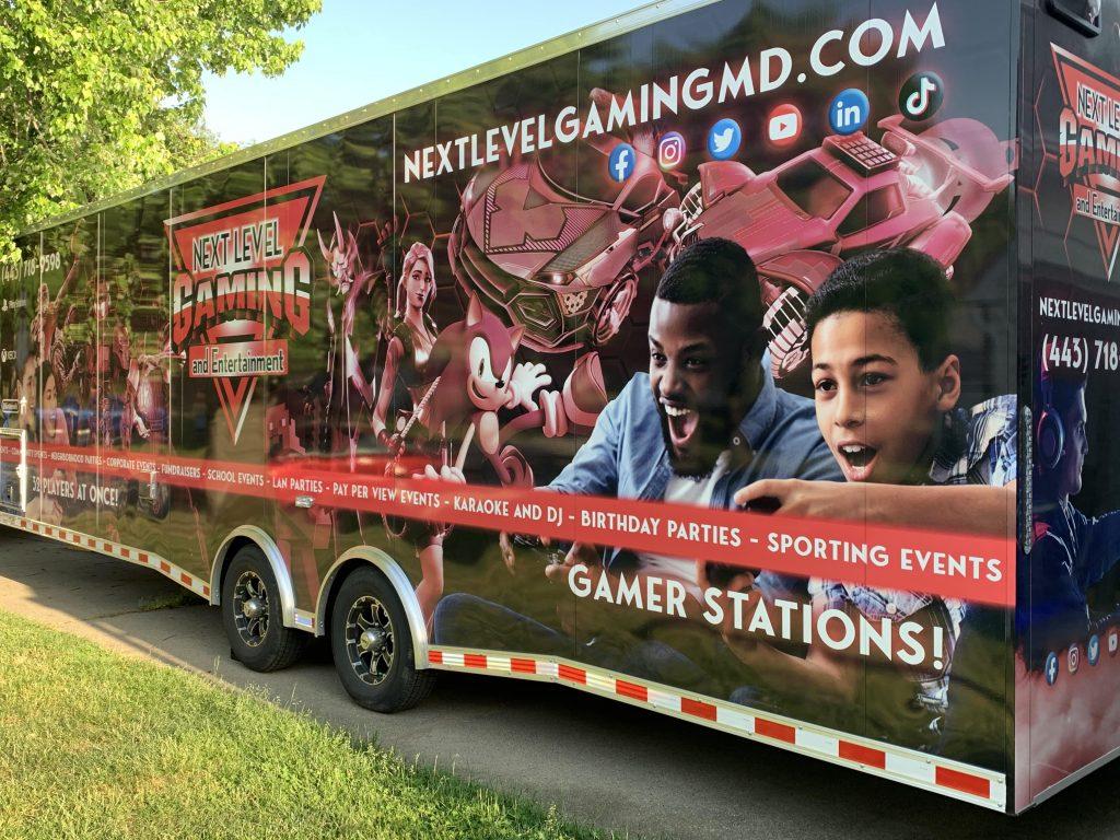 video game truck birthday