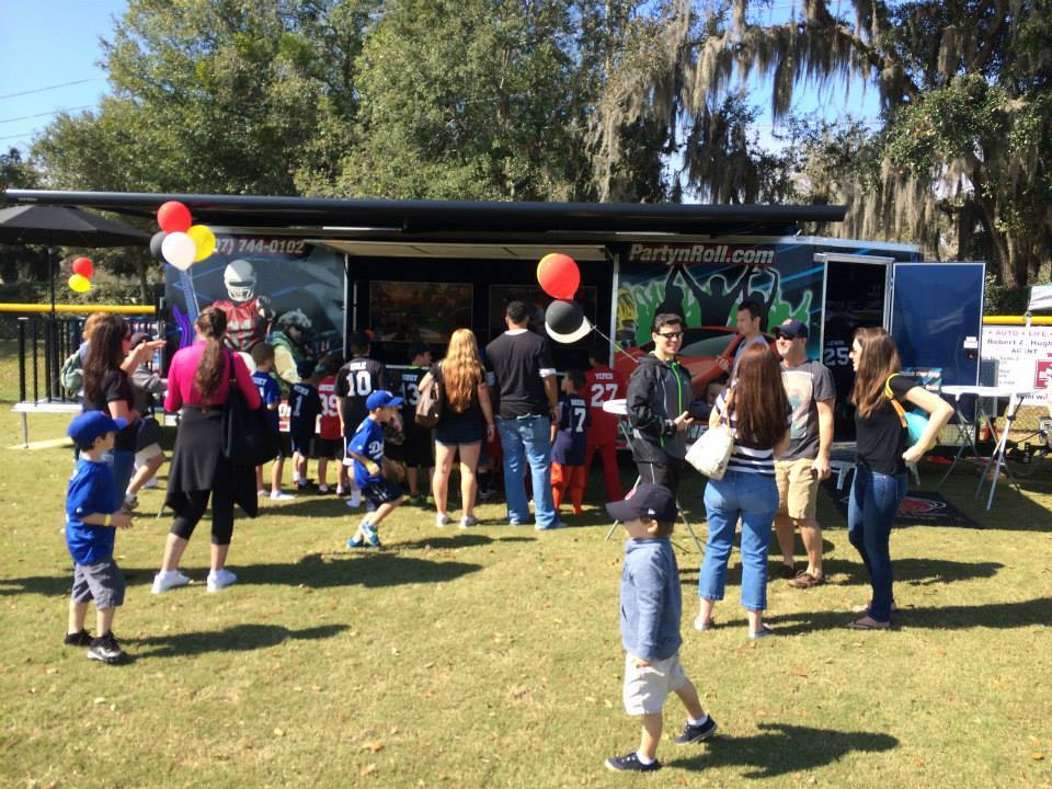 game truck rental for birthday parties